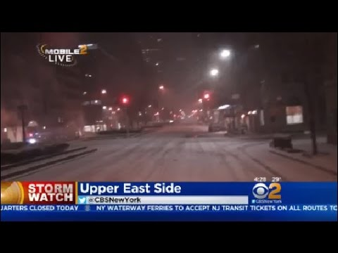 Upper East Side Road Conditions