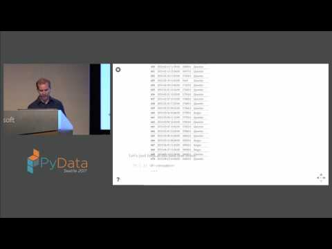 Quentin Caudron - Introduction to data analytics with pandas