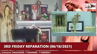 3RD FRIDAY REPARATION LIVESTREAM (06/18/2021)