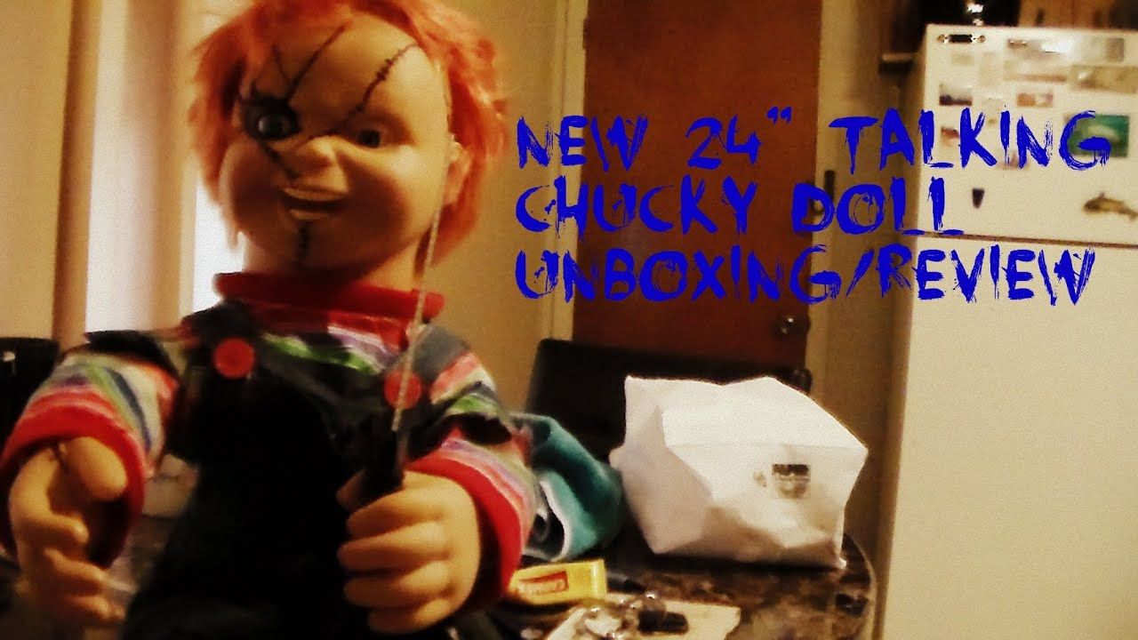 New Spencer S 24 Talking Chucky Doll Unboxing Review