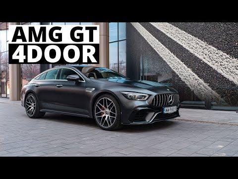 Mercedes-AMG GT 4door - Nie Przekraczaj Podwójnej Ciągłej...