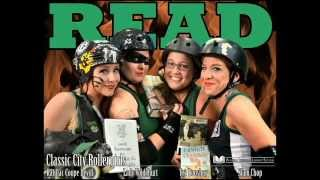 Classic City Rollergirls at the Library!