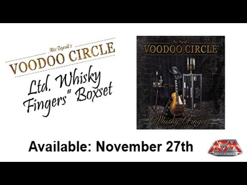 VOODOO CIRCLE - Whisky Fingers (2015) / special edition presentation / AFM Records