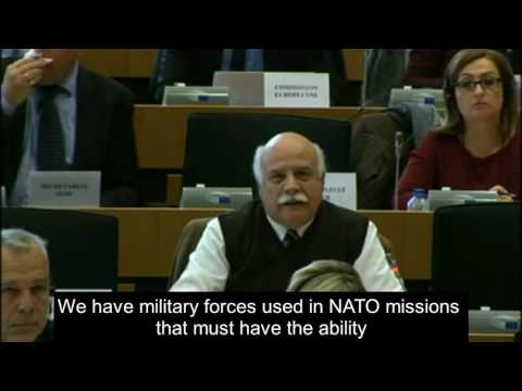 Statement by General Epitideios on the Common Foreign and Security Policy for the European Union