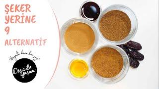 Rafine Şeker Yerine Kullanabileceğiniz Doğal Tatlandırıcılar / Deniz Topaç Önal