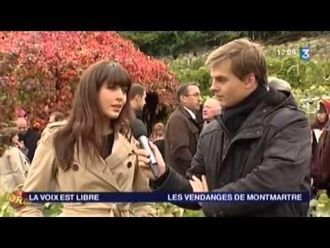 Interview de Nolwenn Leroy marraine des Vendanges de Montmartre - France 3 Idf