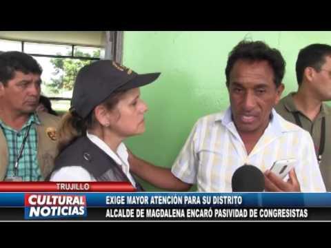 TRUJILLO Alcalde de Magdalena de Cao mantuvo discusión con congresista Rosa Bartra