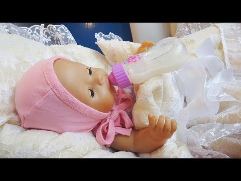 Сборник с куклой Беби Бон Как МАМА ухаживает за Беби Бон, купает и лечит куклу Видео для девочек