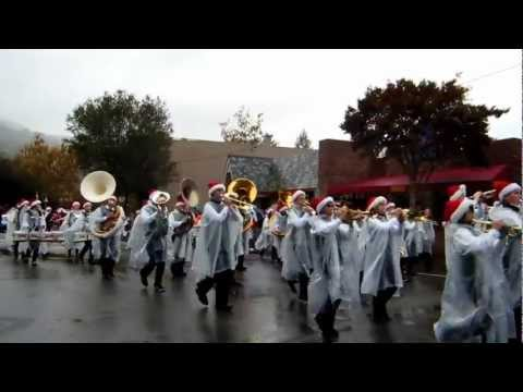 Fisher Middle School Marching Band 2012 Los Gatos Holiday Parade
