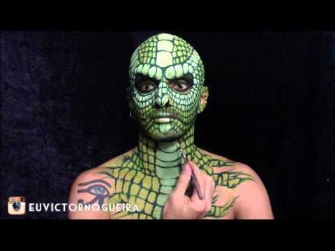 Réptil Makeup - Victor Nogueira