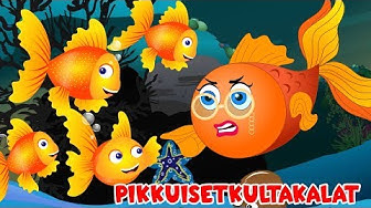 Lastenlauluja suomeksi | Pikkuiset kultakalat ja monta muuta lastenlaulua
