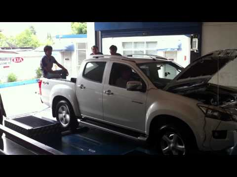 Isuzu 2012 D-Max V-cross 3.0 Dyno Test