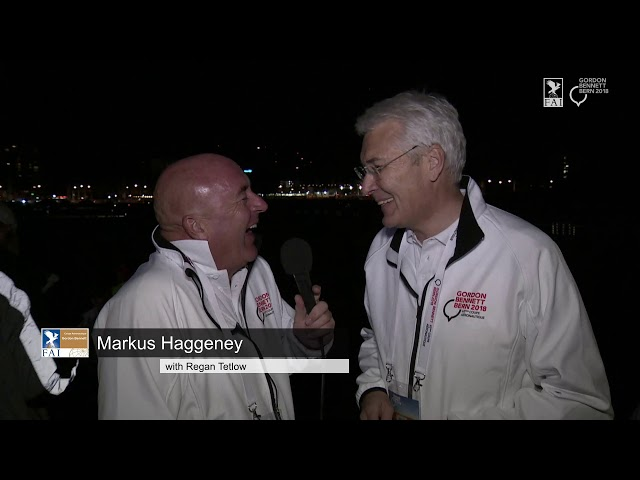 REPLAY - Coupe Aéronautique Gordon Bennett 2018 - Interview Markus Haggeney