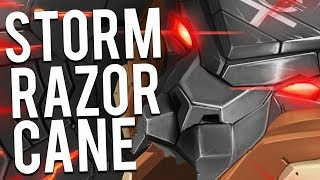 1000k DAMAGE STACK ON THIS RAKA | STORMRAZOR CANE IS OP - Trick2G