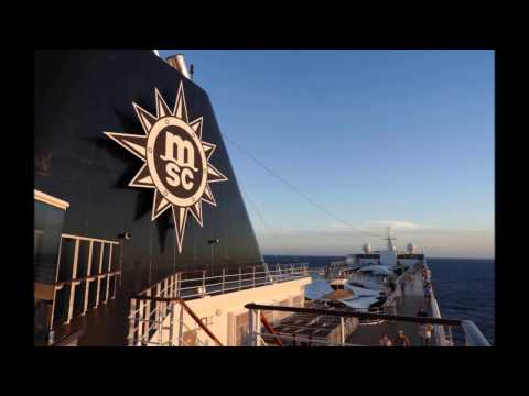 MSC Sinfonia Cruise March 2017