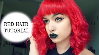 TUTORIAL: Red Hair