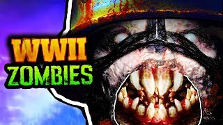 NEW WW2 ZOMBIES TEASER BREAKDOWN, TRAILER / REVEAL DATE & DETAILS!!