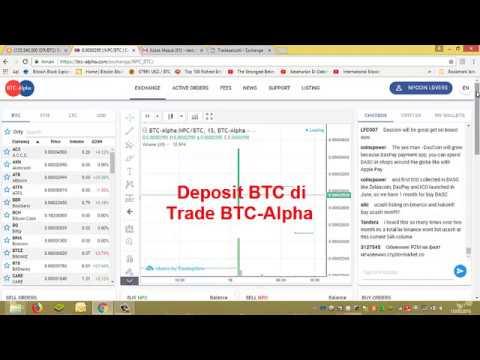 cara indėlis bitcoin lewat alfa
