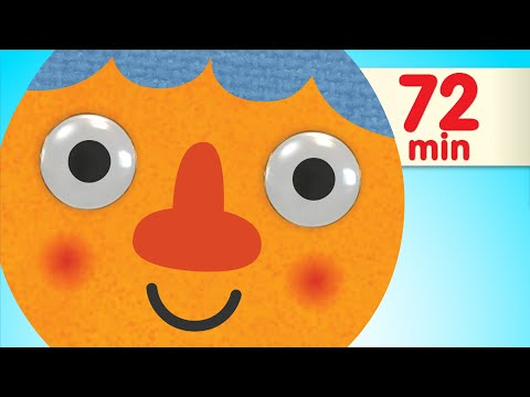 Walking Walking + More | Nursery Rhymes & Kids Songs | Super Simple Songs