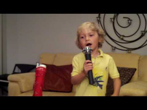 6year old singing Nickelback  This Afternoon