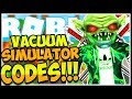 🚨ALL SECRET CODES VACUUM SIMULATOR😱Vacuum Simulator!✨ [NEW] Roblox🚨
