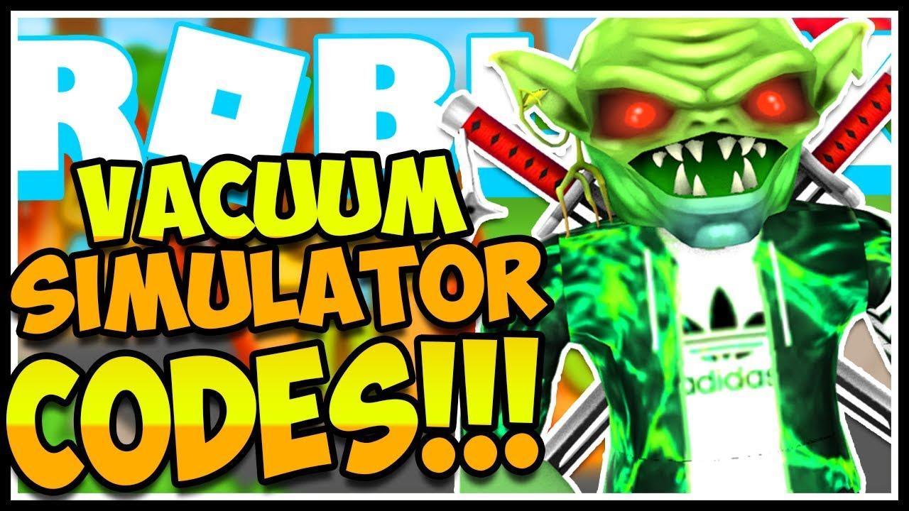 ALL SECRET CODES VACUUM SIMULATOR😱Vacuum Simulator! [NEW ...