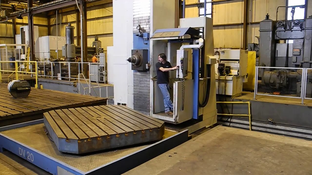 Union P150 I Cnc 7 Axis Floor Type Horizontal Boring Mill With Rotative Speed Regulator Borer Driller Controller Heidenhain Itnc530 Control 5