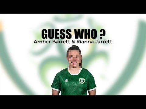 GUESS WHO | Amber Barrett and Rianna Jarrett