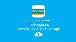 Ridgeons - Mobile App Preview - RID904W