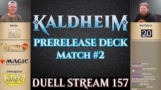 MTG Kaldheim Duell deutsch #2 |  Prerelease Pack | Magic the Gathering | Trader Tutorial Duel Arena