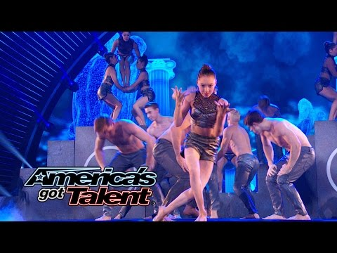 AcroArmy: Acrobatic Dance Troupe Shocks Crowd - America's Got Talent 2014 Finale