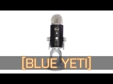 Blue Yeti Microphone Unboxing, Comparison, Audio Test!