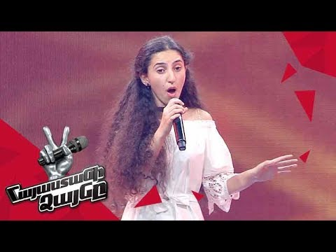 Susanna Petrosyan sings 'Something's Got a Hold on Me' - Blind Auditions - The Voice of Armenia 4
