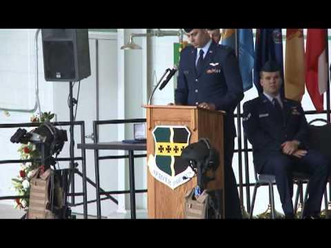 Memorial Service Honoring MC-12 Aircrew at Beale Air Force Base