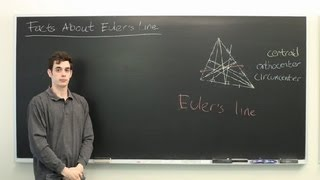 Facts About Euler's Line : Advanced Math