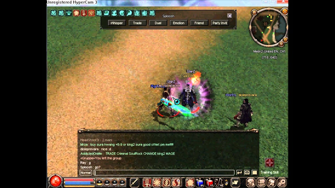 Metin2 United Ray duel