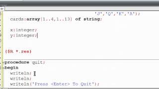 Free Pascal Program Tutorial 21 - 2 Dimensional Arrays - Matrix - Lazarus
