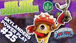 skylanders power play sure shot shroomboom l skylanders trap team l skylanders