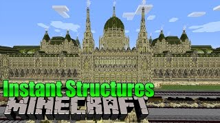 Instant Structures - Minecraft Mod