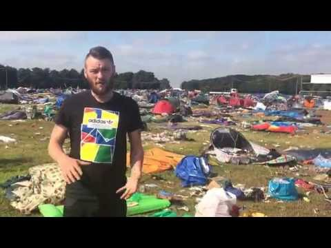Leeds Festival 2016 Homeless Clean Up (Salvage day)