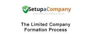 The Limited Company Formation Process(, 2013-10-30T14:19:29.000Z)