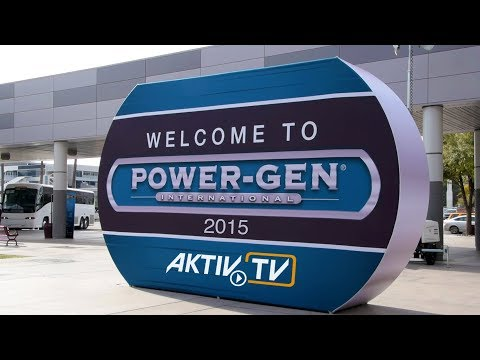 Power-Gen International • Las Vegas • Exhibitor Notes • AKTIV Booth Construction & Film Production