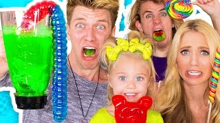 Video SOUREST GUMMY DRINK IN THE WORLD CHALLENGE!! Warheads, Toxic Waste Smoothie (EXTREMELY DANGEROUS) download MP3, 3GP, MP4, WEBM, AVI, FLV November 2017