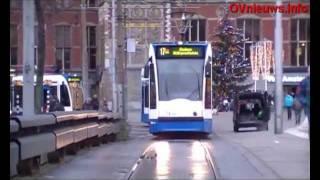 GVB trams door Amsterdam - Tram / Straßenbahn / Tramway - Amsterdam