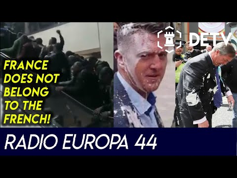 """France does not belong to the French!"" & Milkshake Assaults 