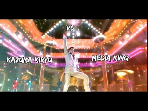 YAKUZA 0 - Media King Disco Battle