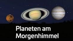 Sternstunden: Planeten am Morgenhimmel