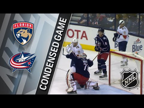 01/07/18 Condensed Game: Panthers @ Blue Jackets