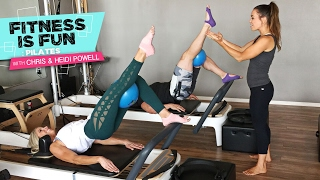 Fitness is Fun: Pilates with Chris and Heidi Powell