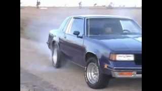 1988 Oldsmobile Cutlass Supreme Burnout